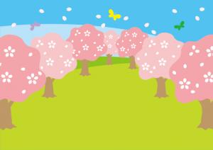 桜が満開になり、お花見に最適