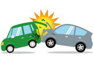 車の背面衝突事故