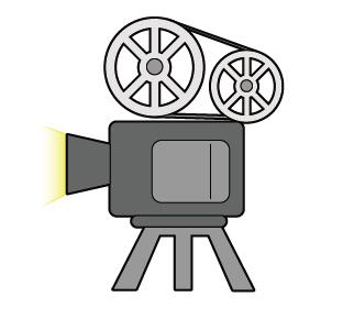 映画投影機