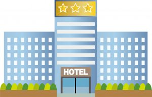 ホテルに旅行