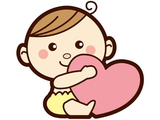 ハートを持った赤ちゃん