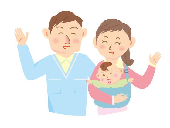 親と赤ちゃん