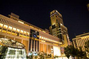 JR札幌駅の夜景