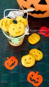 ハロウィンにも☆簡単かぼちゃクッキー。
