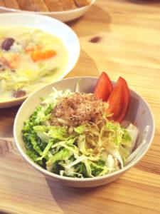 シャキシャキ白菜のサラダ