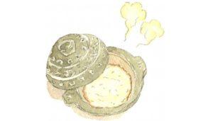 サムネ 土鍋でご飯を炊く