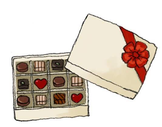 バレンタインチョコレート詰め合わせ
